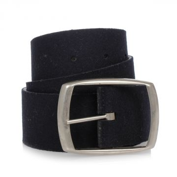 MM11 Belt in Wool and Leather 4,5 cm