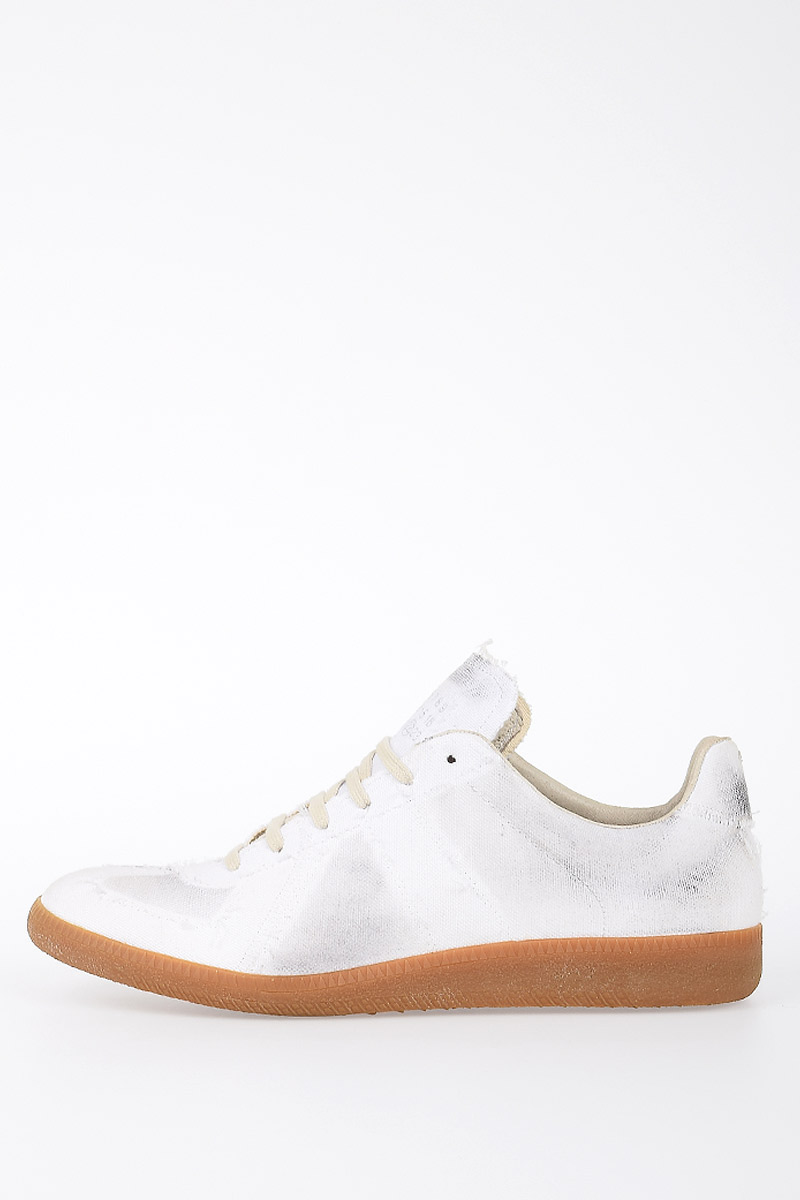 cfefafcac5be Martin Margiela Men MM22 Canvas Sneakers - Glamood Outlet