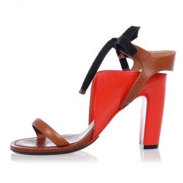 MM22 Sandalo in Pelle 9 cm