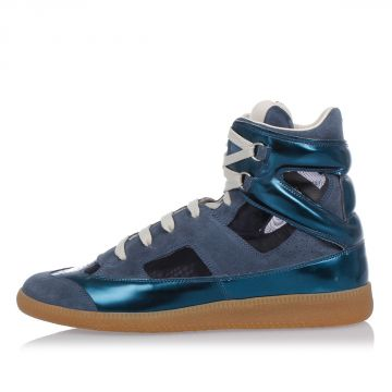 MM22 Leather High top Sneakers