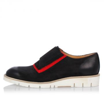 MM22 Leather Lace Up Shoes with Rubber Sole