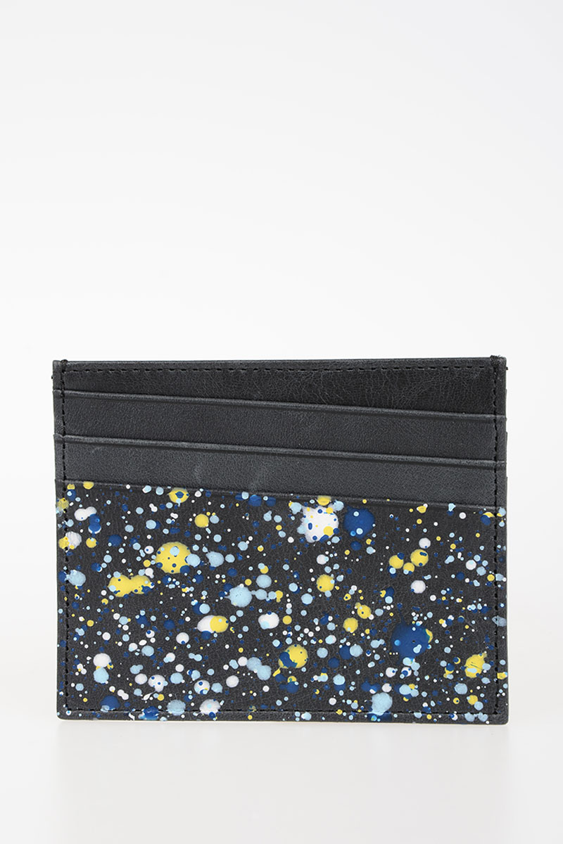 Martin Margiela Men MM11 Leather business Card Holder - Glamood Outlet