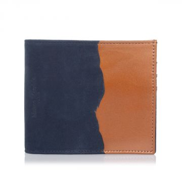 MM11 Bicolor Leather wallet