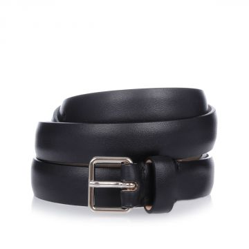 MM11 Skinny Leather Belt 2cm