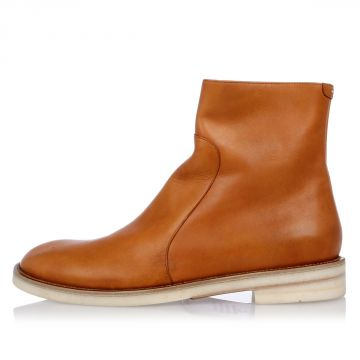 MM22 Leather Ankle Boots