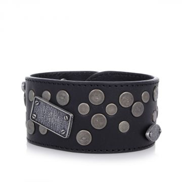 MM11 Leather Bracelet with Details