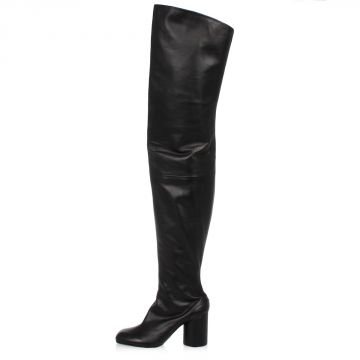 MM22 Leather Boots 8 cm