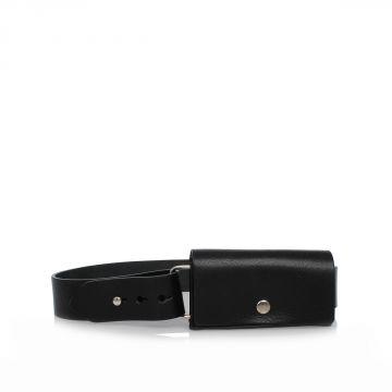 MM11 Cintura con Pochette in Pelle 4,5 cm