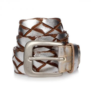 MM11 Leather Belt 4 cm
