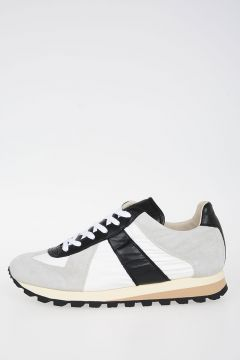 MM22 Sneakers in Pelle e Tessuto