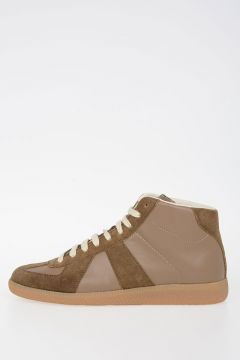 MM22 High Top Leather Sneakers