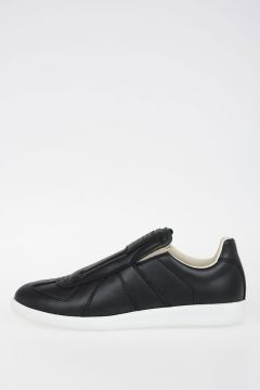 MM22 Leather Slip-on Sneakers