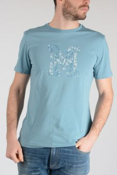 MM10 T-shirt in Cotone Stampata