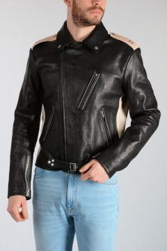MM10 Giubbotto Biker in Pelle