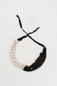 MM11 Metallic & Fabric Bracelet