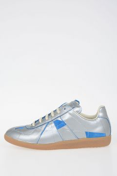 MM22 Leather Low-Top Sneakers