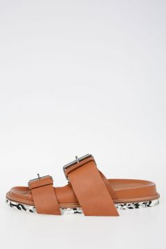MM22 Leather Sandals