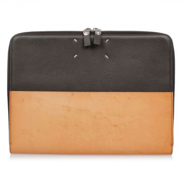 MM11 Leather Laptop Case