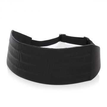 MM11 Leather cummerbund