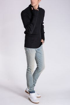 Wool Silk Long Sleeves TEE