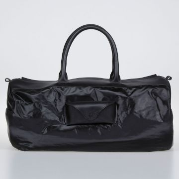 Leather Fabric Travel Bag