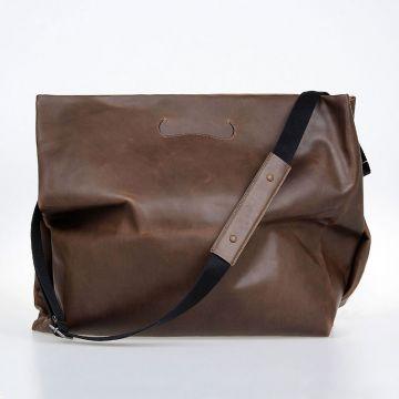 Leather Strap Crossbody Bag