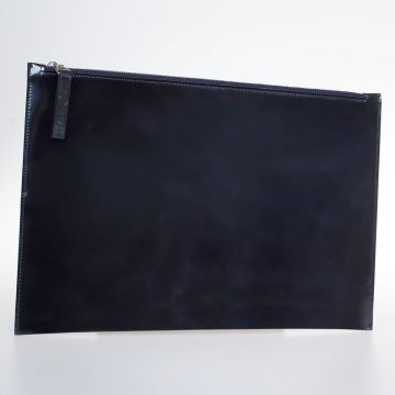 Leather Zipped Pochette
