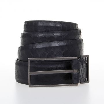 Snake Leather Skin Belt