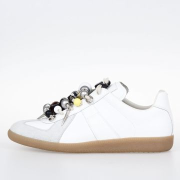 MM2 Leather Embellished Sneakers