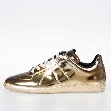 MM22 Sneakers in Pelle Metallizzata