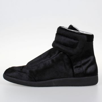 Real Fur Leather Sneakers
