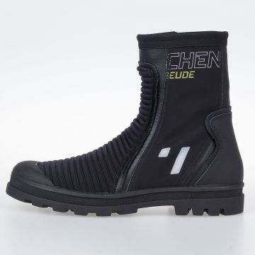 MM22 Techno Fabric Biker Boots