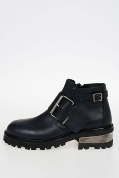 MM22 Leather Low Boots