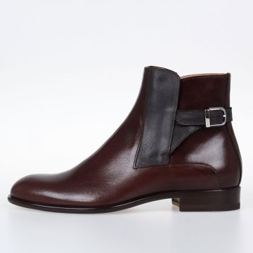 MM22 Leather TRUNK Ankle Boots