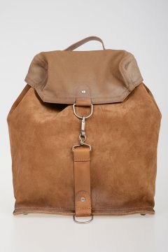 Leather Fabric Back Pack