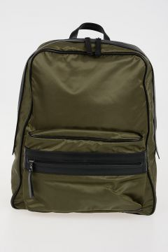 MM11 Fabric & Leather Backpack