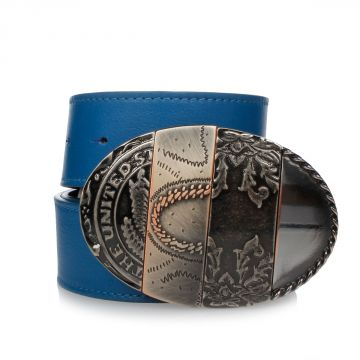 MM11 Belt in Leather 4 cm