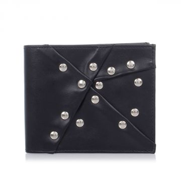MM11 Leather Wallet with Applications