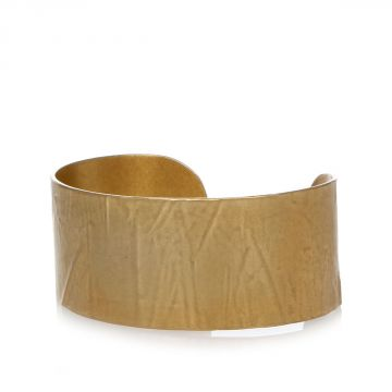 MM11 Brass Gold Tone Bracelet