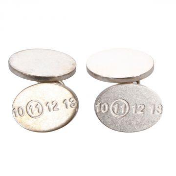 MM11 Silver Cufflinks