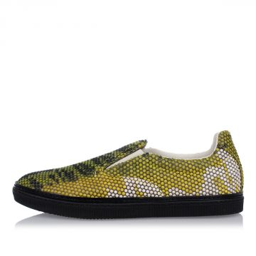 MM22 Sneakers Slip on con Stampa tridimensionale