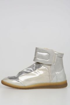 Coated High Top Sneakers