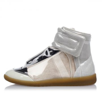 MM22 see-through Material high top Sneakers
