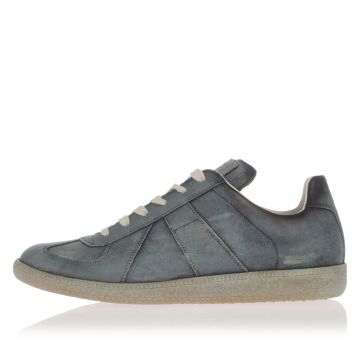 MM22 Sneakers  in Pelle Dipinte a Mano