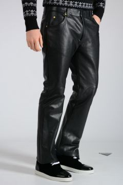 MM14 Leather Pants