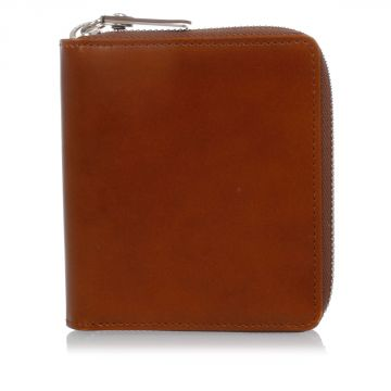 MM11 Zip Around Leather Wallet