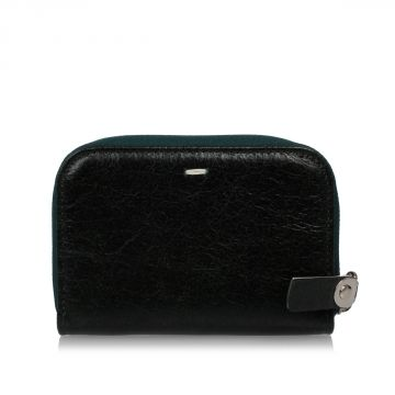 MM11 Zip Around Leather Coin Purse