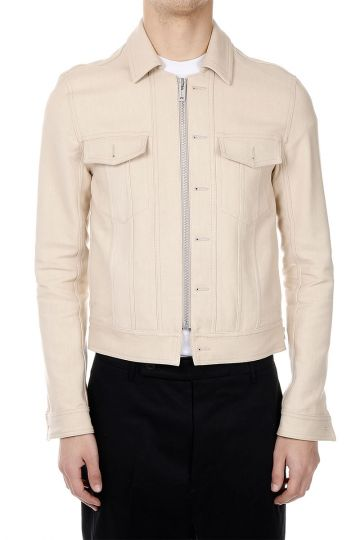 MM10 KABAN Jacket in Cotton and Linen