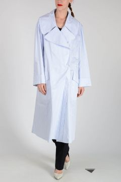 MM1 Cotton Striped Trench