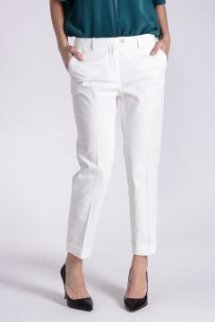 TERRY Stretch Cotton Gabardine Pants